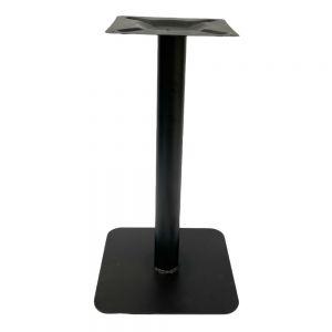 Chân bàn cafe sắt chân đế vuông cao 73cm CHBCF015