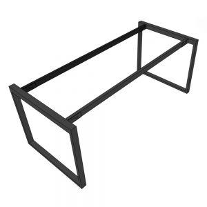 Chân sắt bàn làm việc hệ Rectang 180x80cm lắp ráp HCRT028