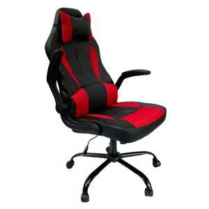 Ghế chơi game RC66 đen đỏ tay lật GC68016