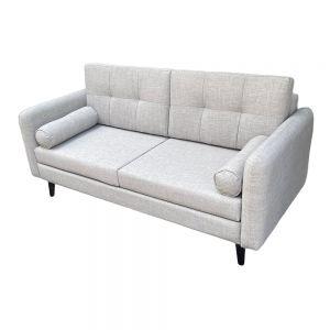 Sofa băng 170x80cm bọc vải màu xám SFB68039