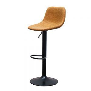 Ghế bar nệm da chân nâng hạ chiều cao GAKJB-065