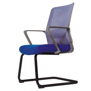 Ghế văn phòng chân quỳ nệm nhiều màu chân sắt Java DX03 GTC003