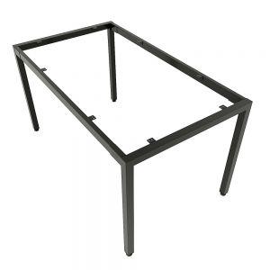 Chân bàn ăn sắt vuông 40mm sơn tĩnh điện cao cấp CHBBA004
