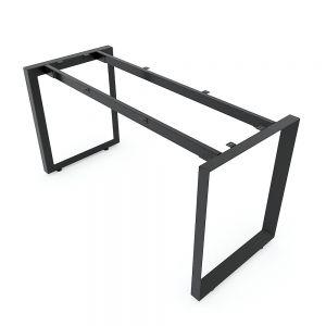 Chân bàn 140x60cm hệ Trian II sắt tam giác lắp ráp HCTG003