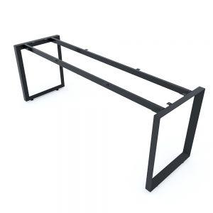 Chân bàn 200x60cm sắt tam giác lắp ráp hệ Trian II HCTG005