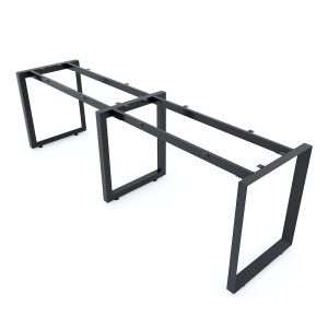 Chân sắt tam giác cho bàn 240x60cm hệ Trian II HCTG006