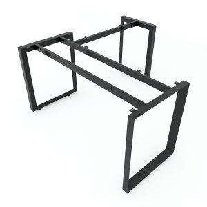 Chân bàn chữ L 140x140cm sắt tam giác lắp ráp hệ Trian II HCTG012