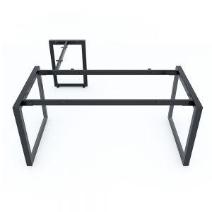 Chân bàn chữ L 160x160cm sắt tam giác lắp ráp hệ Trian II HCTG015