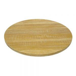 Mặt bàn tròn 60cm gỗ Plywood đã hoàn thiện MB015