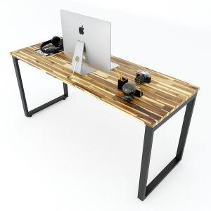 Bàn làm việc 160x60cm gỗ tràm hệ Wooden HBWD035