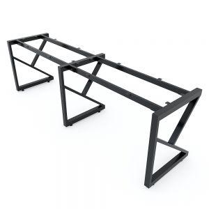 Chân sắt lắp ráp cho bàn cụm 2 240x60cm hệ Kconcept HCKC026