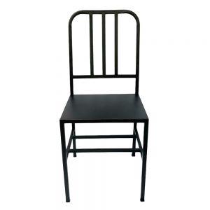 Ghế sắt đơn giản có tựa lưng GCF091