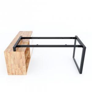 Chân bàn gác tủ 160x80cm sắt tam giác lắp ráp hệ Trian II HCTG018