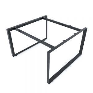 Chân sắt tam giác cho bàn cụm 2 120x120cm hệ Trian II HCTG019