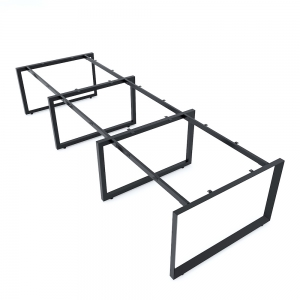 Chân bàn cụm 6 360x120cm chân sắt tam giác hệ Trian II HCTG021