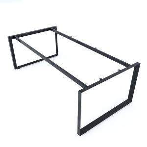 Chân sắt tam giác cho bàn họp 200x100cm hệ Trian II HCTG023