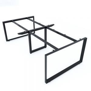 Chân sắt tam giác cho bàn họp 240x120cm hệ Trian II HCTG024