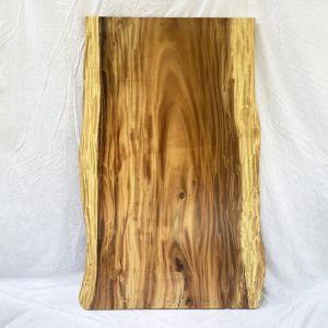 Mặt bàn gỗ me tây nguyên tấm 160x80cm dày 5cm MBMT016