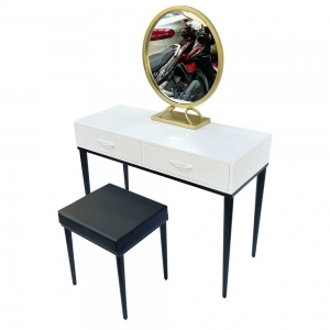 Bộ bàn ghế trang điểm chân côn BTD68052