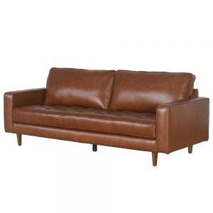 Ghế sofa băng 200x90cm Loveseats 01 nệm bọc simili cao cấp SFB68041