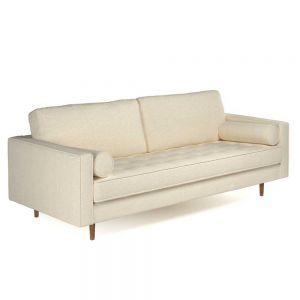 Sofa băng 180x82cm Loveseats 12 chân gỗ SFB68051