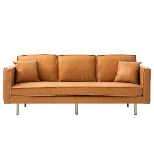 Sofa băng 220x90cm Loveseat 07 nệm bọc simili sang trọng SFB68047