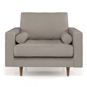 Ghế sofa đơn nệm bọc vải ArmChair 04 GSD68033