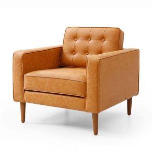 Sofa đơn nệm bọc simili sang trọng Armchair 05 GSD68034