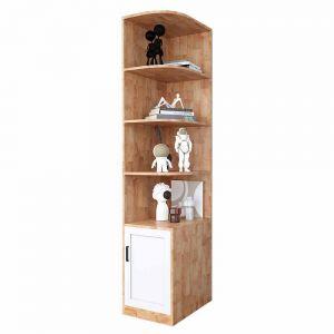 Kệ góc để đồ có hộc tủ gỗ cao su TQA68022