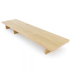 Kệ để màn hình gỗ Plywood melamin nhiều màu MS68012