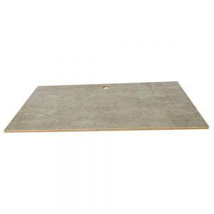 Mặt bàn gỗ Plywood melamin màu bê tông MB016