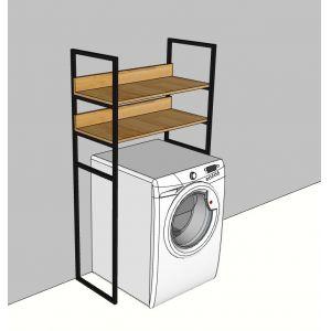 KMG68001 - Kệ máy giặt khung sắt - 80x40x150 (cm)