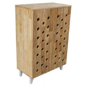 KG68004 - Tủ đựng giày dép bằng gỗ 4 tầng có chân - 60x30x90 (cm)