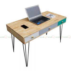 BD68035 - Bàn làm việc BookDesk 3 ngăn kéo - 120x60x75 cm
