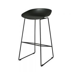 HOGCF68015 - Ghế ngồi cao quán bar chân sắt