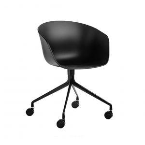 GBC68015  - Ghế ngồi bàn cao lưng nhựa chân xoay