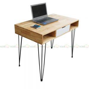 BD68039 - Bàn làm việc Bookdesk PINLEG một ngăn kéo - 100x50x75 (cm)