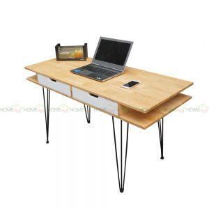 BD68038 - Bàn làm việc Bookdesk PINLEG - 140x60x75