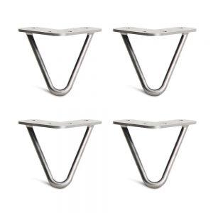 CHB68031 - Chân bàn Hairpin cao 10cm