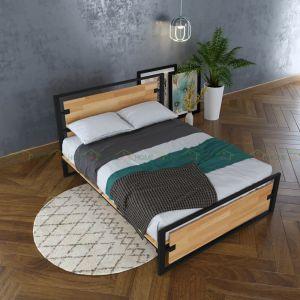 GN68004 - Giường ngủ Ferrro - 206x160x35 (cm) *không bao gồm nệm*