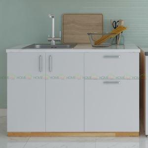 Tủ bếp dưới mẫu 002 - 120x60x80cm TBD68002