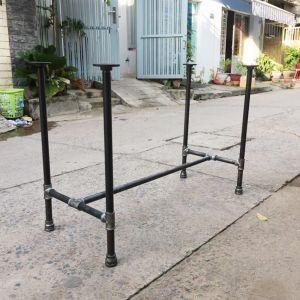 CBON68001 - Chân bàn ống nước sắt ống phi 27 - 120x60x72 (cm)