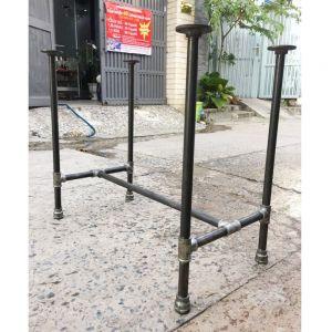 CBON68002 - Chân bàn ống nước sắt ống phi 27 - 100x60x72 (cm)