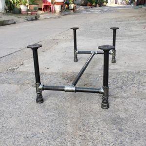 CBON68001 - Chân bàn ống nước sắt ống phi 27 - 120x60x72 (cm)CBON68002 - Chân bàn ống nước sắt ống phi 27 - 100x60x72 (cm)