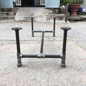 CBON68004 - Chân bàn ống nước sắt phi 27 - 120x60x35 (cm)