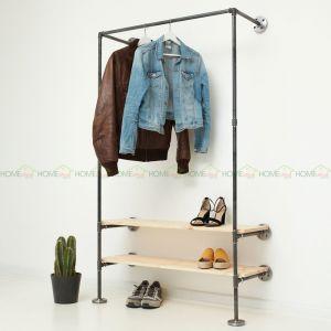 GQA68027 - Giá treo quần áo ống nước 012 -120x30x180 (cm)