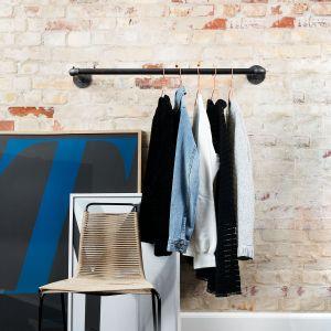 GQA68014- Sào móc quần áo ống nước gắn tường 70cm