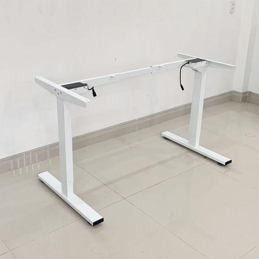 HO2AR2E1_A2 - Bàn FlexiDesk Pro 70x140cm 1 thanh giằng gỗ cao su chỉnh điện