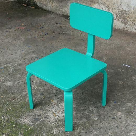 KD68010 - Bộ bàn ghế học tập cho trẻ em KidDesk V2 màu xanh ngọc 100x60x45cm
