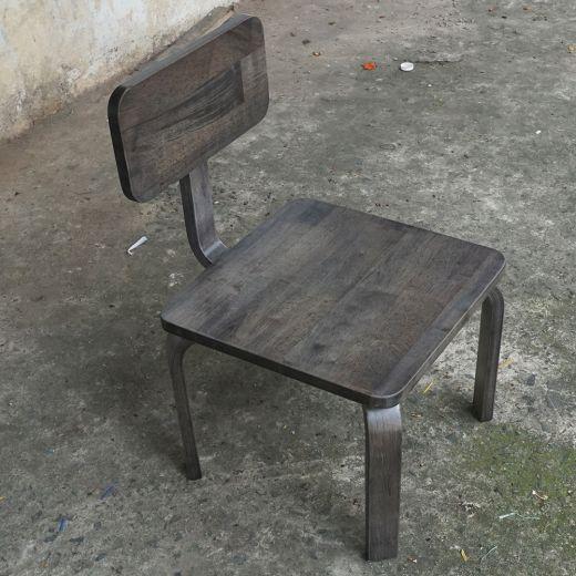 KD68011 - Bộ bàn ghế học tập cho trẻ em KidDesk V2 màu nâu lau 100x60x45cm